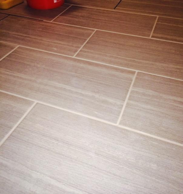 Bamboo tiles flooring