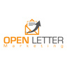 Medium open letter marketing logo