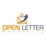 Medium open letter marketing logo