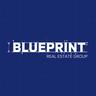 Medium blueprint logo square print darkblue grid solid  1