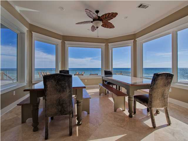 Reduced santa rosa beach fl waterfront home for sale 171 Floor to ceiling windows for sale