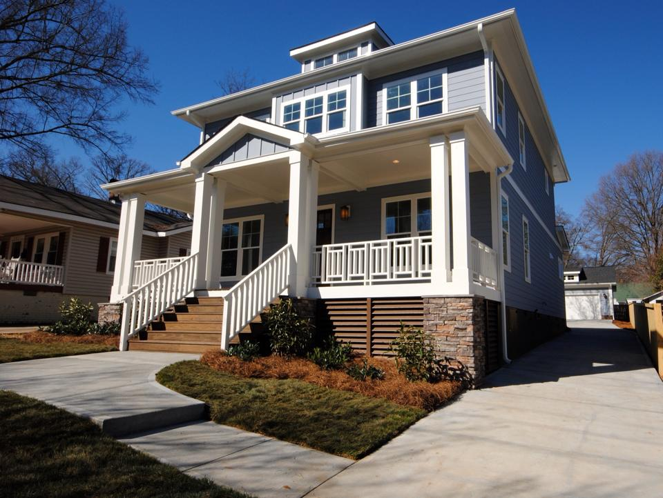 Latest new construction spec house in charlotte north for Spec home building