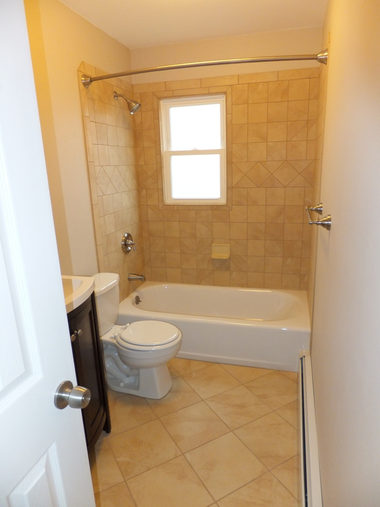 Remodel Bathroom With Window In Shower window in shower. what would you do?