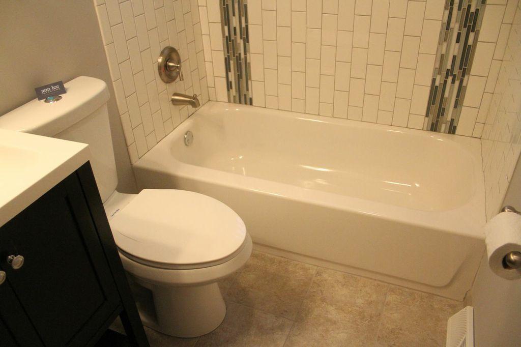 Rehabs revealed merriville in bathroom rehab w pics and skus Normal bathroom tiles design