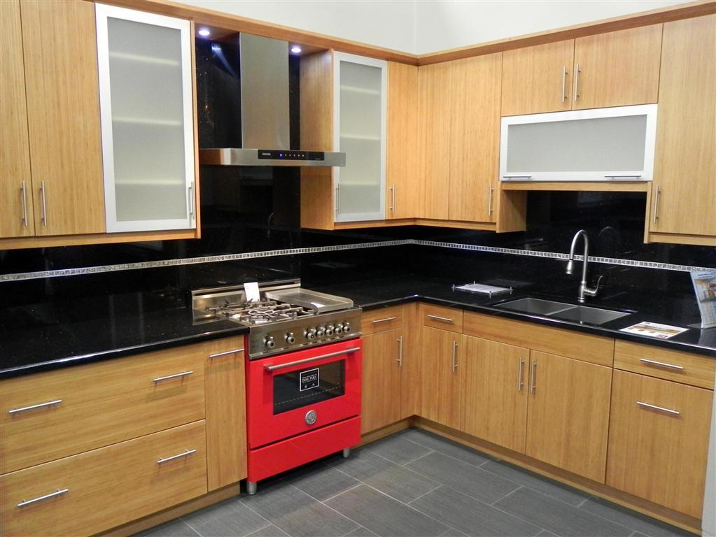 Opinion slab style kitchen cabinet doors normal kitchen for Normal kitchen design