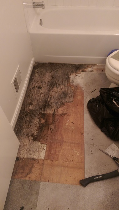 Can I Deduct Bathroom Water Damage From Security Deposit - Bathroom water damage