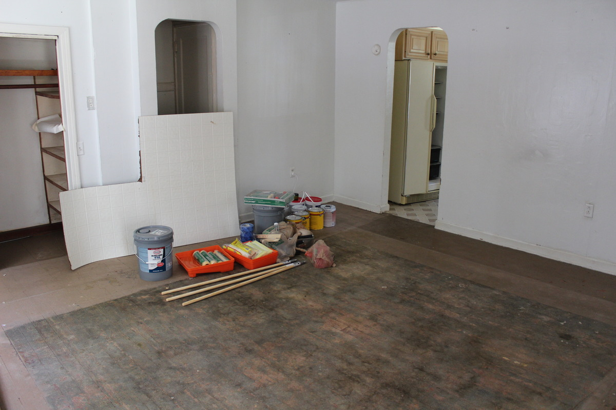 Sanding Thick Paint Off Of Wood Floors