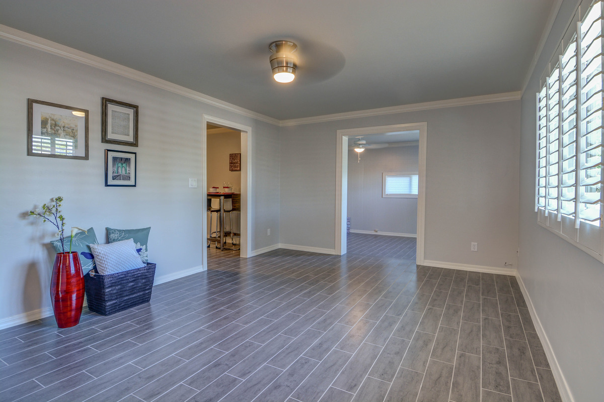 Have done some light staging in other rooms e g living room kitchen