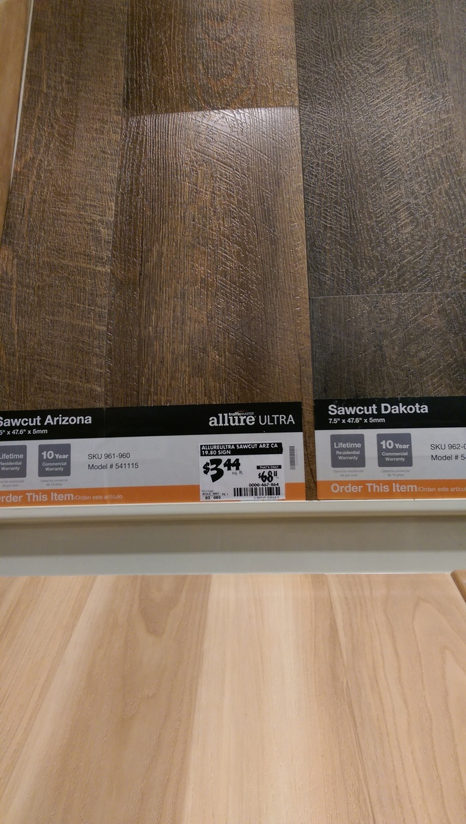 Flooring allure vs lowes versions vs laminate dailygadgetfo Images