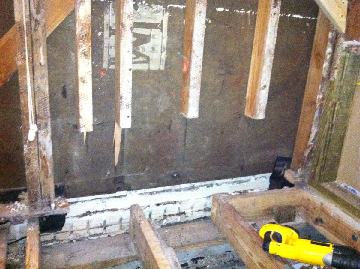 Termite Replacing Sill Plate Termite Damage