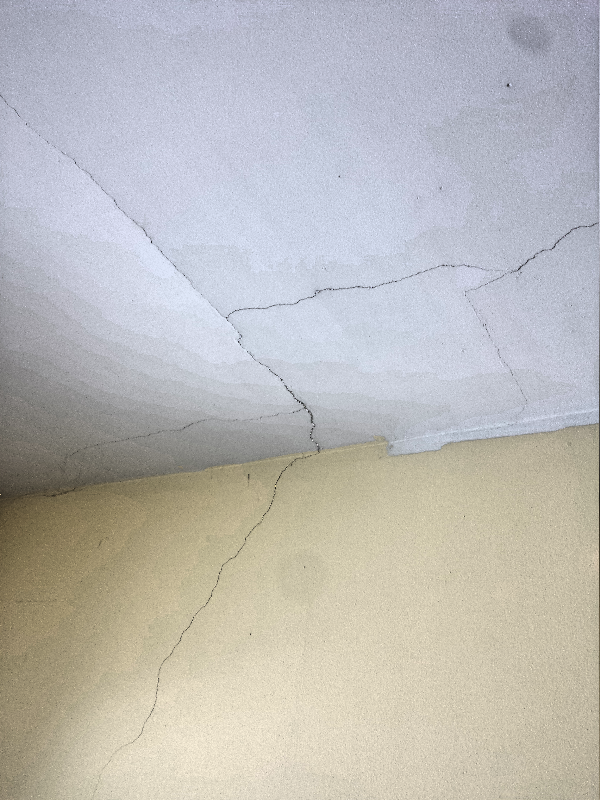 Fixing cracked plaster excellent enter image description for Is there asbestos in old drywall