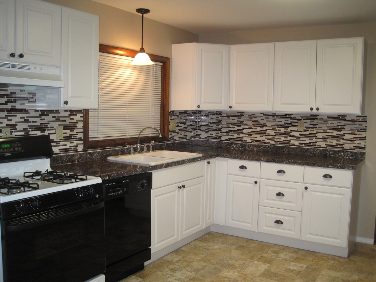 Beau We Put White Cabinets In Our First Rental. Here Is What We Did
