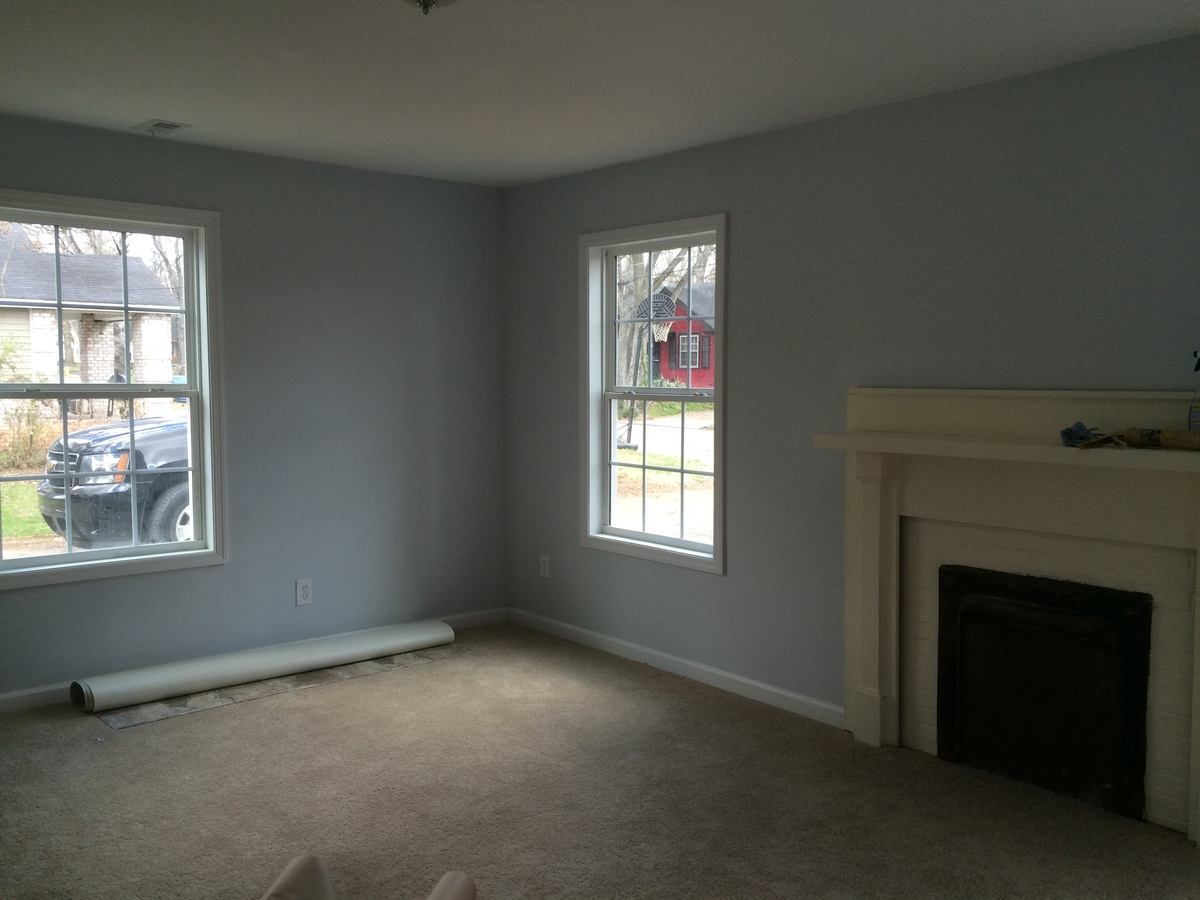 Have also used behr basic taupe with antique white trim its a nice pop against dark wood floors used sherwin williams agreeable grey in my place and i