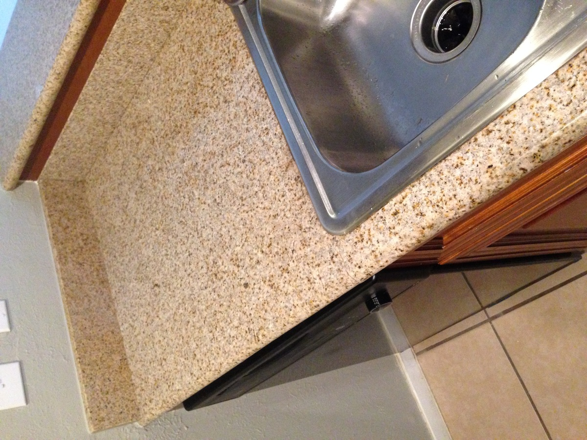 Cracked granite countertop in lease period  Normal wear and