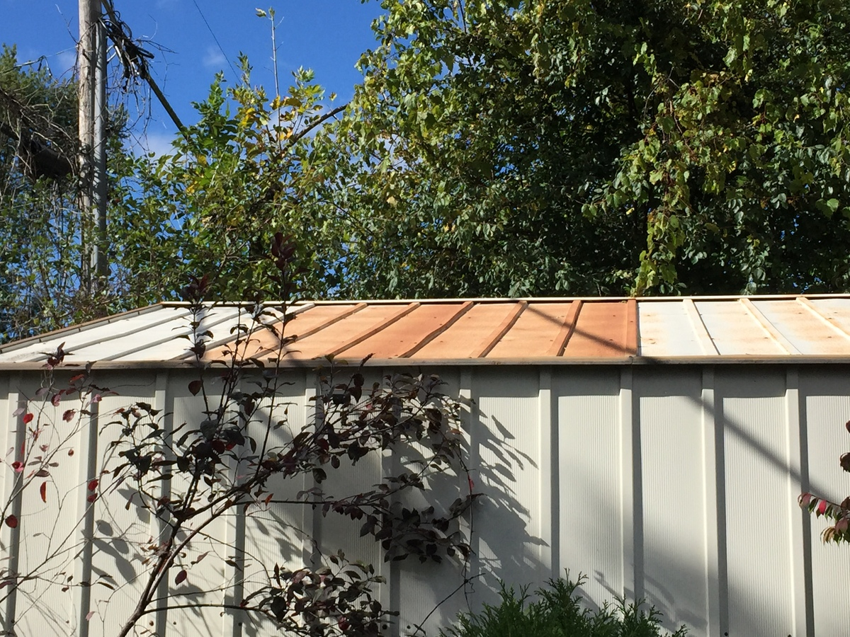 How to Remove Rust From Metal Shed Roof