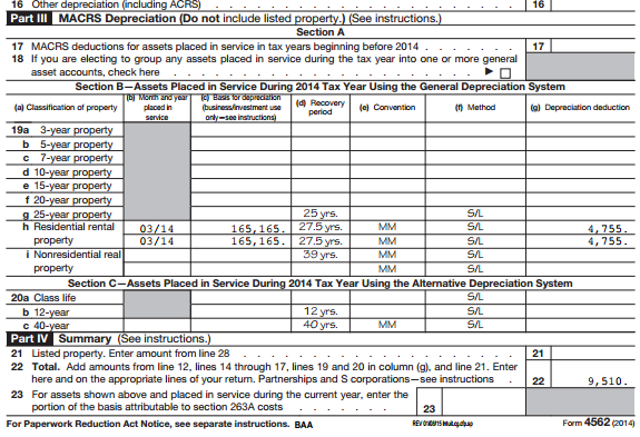 Turbotax and Depreciating One Rental - Weird