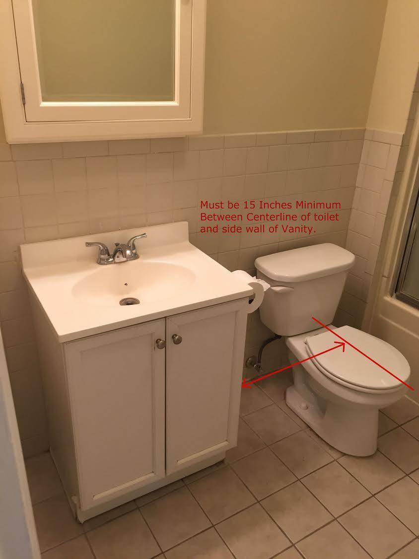 tenant wants vanity upgrade - should i go in 50/50?