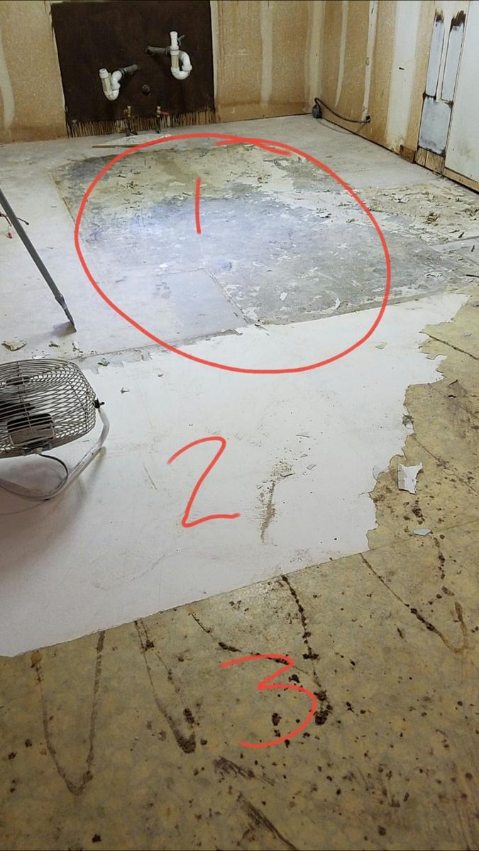 Removing Linoleum Flooring