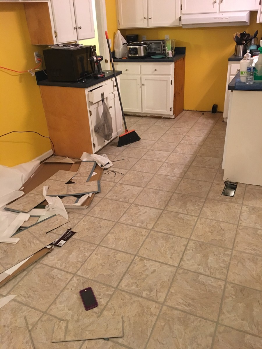 Allure ultra snap in vs allure tile where the tiles connected and it worked great here is some beforeafter photos just to see the kitchen took about 3 hours to law the laundry and dailygadgetfo Gallery