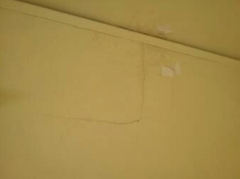 Repair Ceiling Crack Elegant The Step One Is Begun By