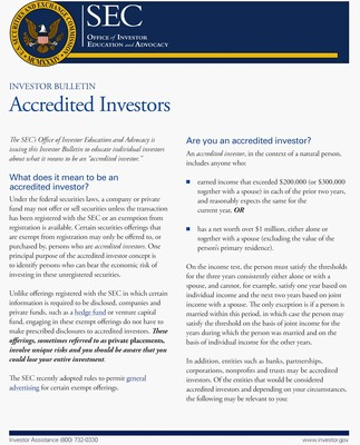 accredited investor verification The JOBS Act - How To Verify Investors Are Accredited