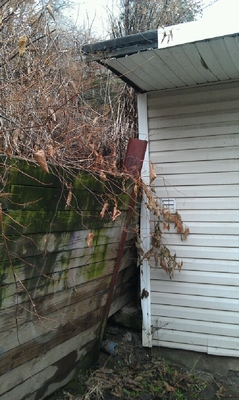Retaining Wall Failing Picture Incl