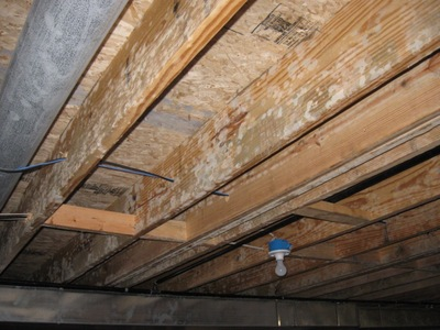 Any ideas what mold remediation would cost? The unfinished basement space is about 1200 SF. & Any ideas what mold remediation on this 1200 SF unfinished basement ...